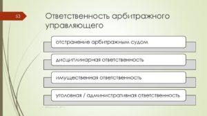 Арбитражный управляющий: функции, полномочия, ответственность