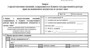 Доверенность на запрос и получение выписки из ЕГРП