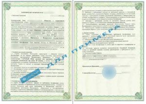 Банковская гарантия на обеспечение исполнения контракта