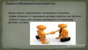 Что необходимо проверить покупателю при заключении договора поставки