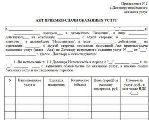Роль акта оказанных услуг в спорах об исполнении договора