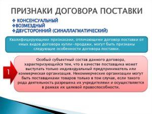 Поставка по рамочному договору