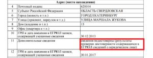 Новое основание для исключения из ЕГРЮЛ: запись о недостоверности сведений