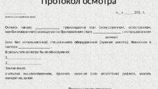 Протокол осмотра налоговой: ошибки при составлении