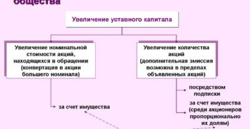 Увеличение уставного капитала ООО. Как оформить процедуру, если вкладом является доля в другом обществе
